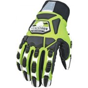 Youngstown Glove Company Titan XT Lined with Kevlar, Lime/Black, Large 09-9083-1
