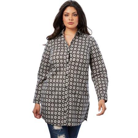 Roaman's Plus Size Kate Tunic (Kate Mack Tunic)