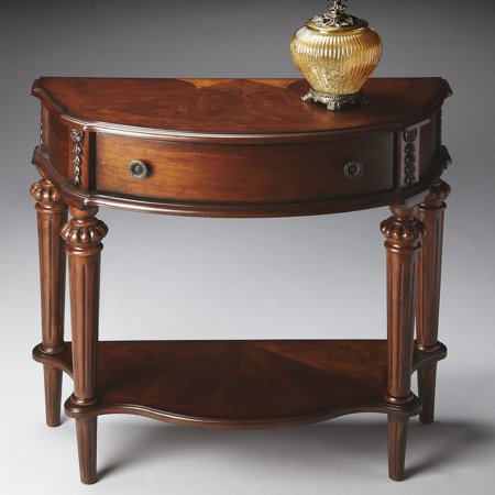 Butler Console Table 31H in. - Nutmeg Nutmeg Console Table