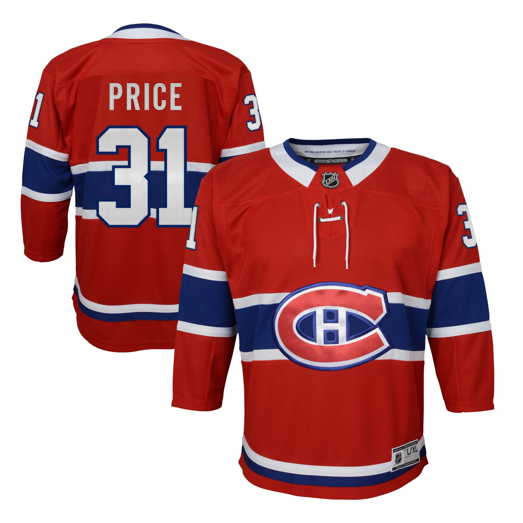 ... australia carey price montreal canadiens nhl premier youth replica  hockey jersey nhl team apparel 441e8 143de e79f4945f