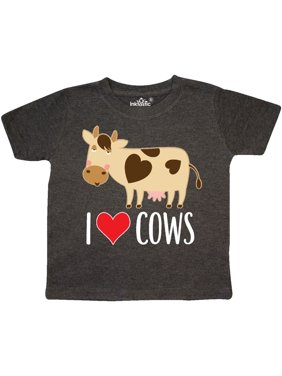 Product Image I Love Cows Dairy Farmer Toddler T-Shirt 752387a5264