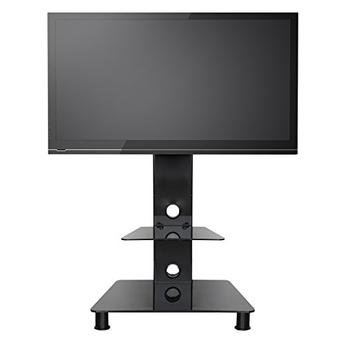 Sevenfans Swivel Floor Tv Stand With Mount Lcd Led Plasma Flat