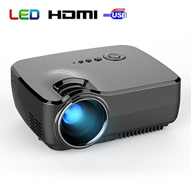 BYINTEK New Model GP70 Mini TFT LCD Projector 800x480 180...