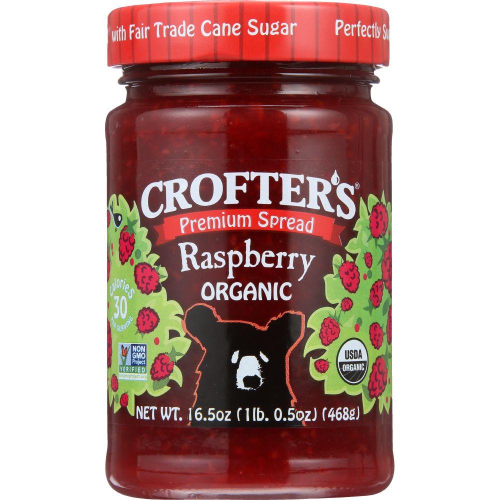 Crofter's Organic Conserve, Raspberry, 16.5 Oz (Pack Of 6)