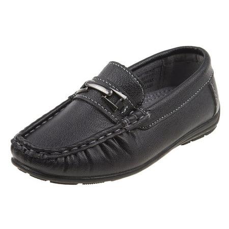 Josmo Boys Casual Driving Slip-on Shoe (Toddler, Little Kid, Big Kid), Black, Size 7 US Toddler - image 1 of 1