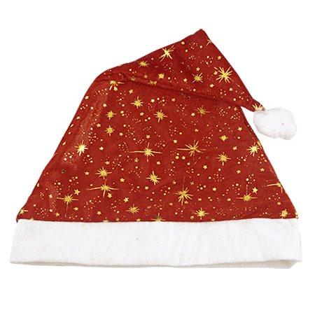 Unique Bargains Adult White Pom-pom Top Rim Red Santa Claus Christmas Hat Kphnq (Unique Christmas Hats)