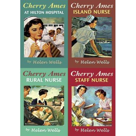 Helen Wells - Cherry Ames Boxed Set 13-16