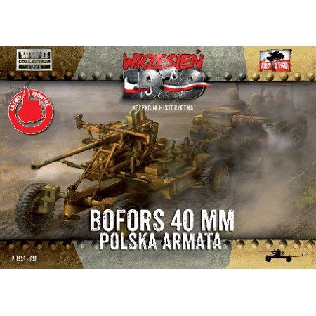 1/72 WWII Bofors 40mm Anti-Aircraft Gun - image 1 de 1