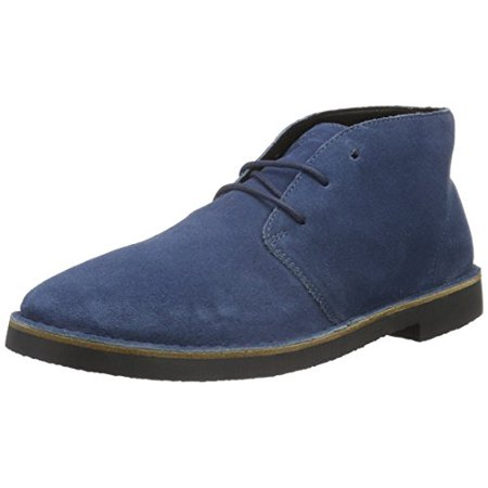 ARMANI JEANS Men's Desert Chukka Boot, Blue Graphite, 42 EU/8.5 M US ()