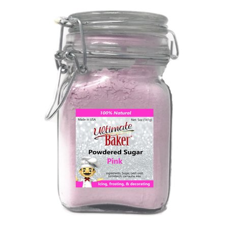 Ultimate Sugar (Ultimate Baker Natural Powdered Sugar Pink (1x5oz Glass) )