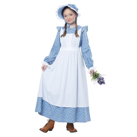 Child Pioneer Girl Costume by California Costumes 480 00480 - Navy Pin Up Girl Costume