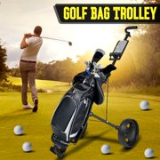 Best Golf Pull Carts - Golf Cart Foldable Pull Push Golf Cart 2 Review