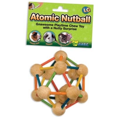 WARE MANUFACTURING INC. ATOMIC NUT BALL TREAT