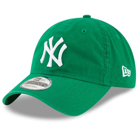 New York Yankees New Era St. Patrick's Day Core Classic 9TWENTY Adjustable Hat - Green - OSFA](St Patricks Day Hats Cheap)