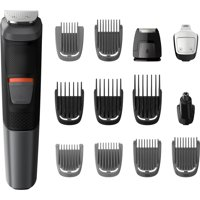 Philips Norelco Multigroom 5000, All-in-One Trimmer, MG5700/49, 16 pieces - Oil-free grooming