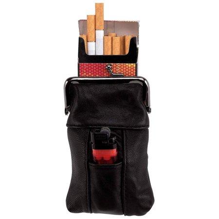 Embassy™ Genuine Leather Cigarette Case - LUCIGCS