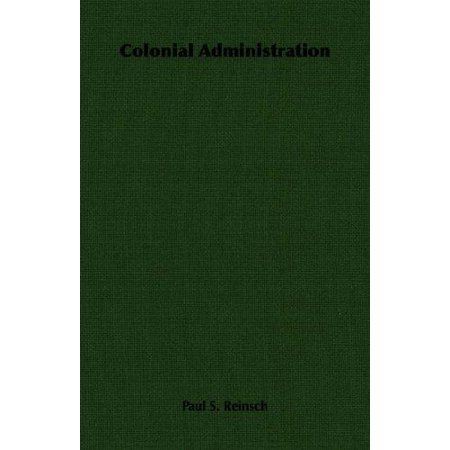 Colonial Administration - image 1 of 1