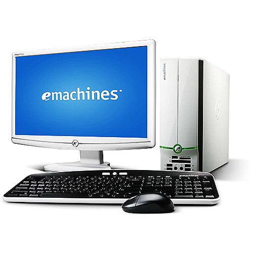 "eMachines EL1300G-02w Desktop with AMD Athlon 2650e Processor, 20"" LCD"