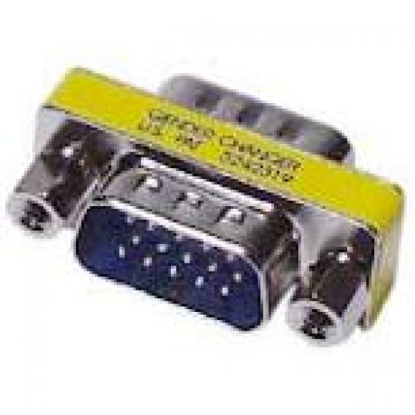 HD15M to HD15M (VGA) Slimline Gender Changer/Adapter - image 1 de 1