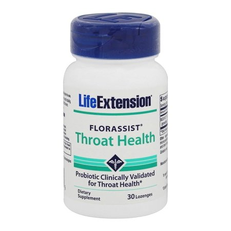 Life Extension - FlorAssist Throat Health - 30 Lozenges (Life Health)