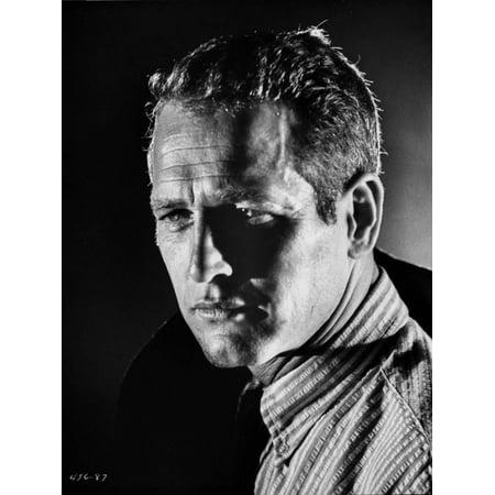 Paul Newman Portrait in Stripes Polo Print Wall Art By Harper