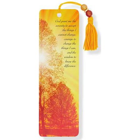Beaded Bookmark: Serenity Beaded Bookmark (Hardcover)