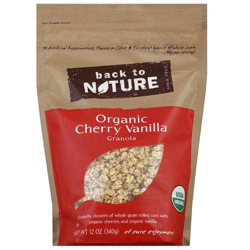 Back To Nature Organic Cherry Vanilla Granola, 12 oz (Pack of 6)