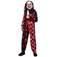 Halloween Evil Clown Suit Adult Costume