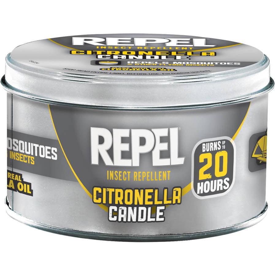 Repel Insect Repellent Citronella Candle, 10 oz