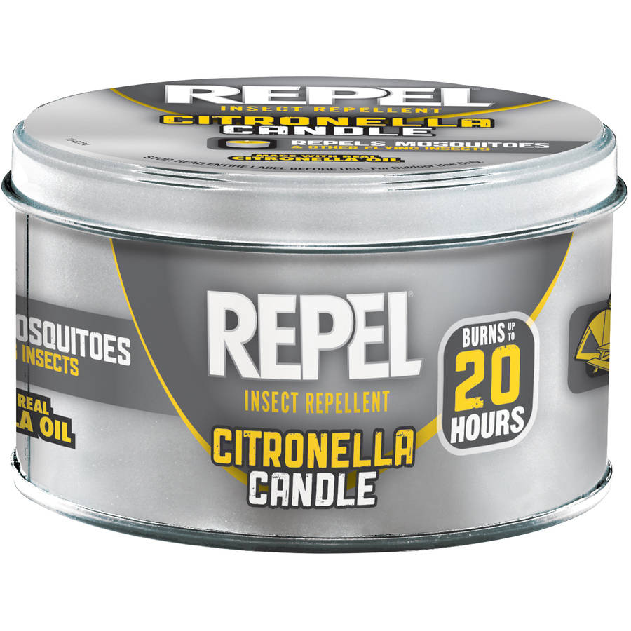 Repel Insect Repellent Citronella Candle, 10 oz