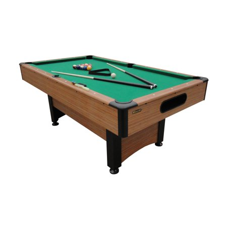 Mizerak Dynasty Space Saver 6.5' Billiard Table with Leg Levelers, Automatic Ball Return, and Classic Green Nylon Cloth ()
