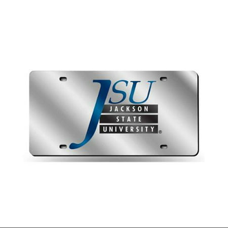 Jackson State Tigers NCAA Laser Cut License Plate Cover