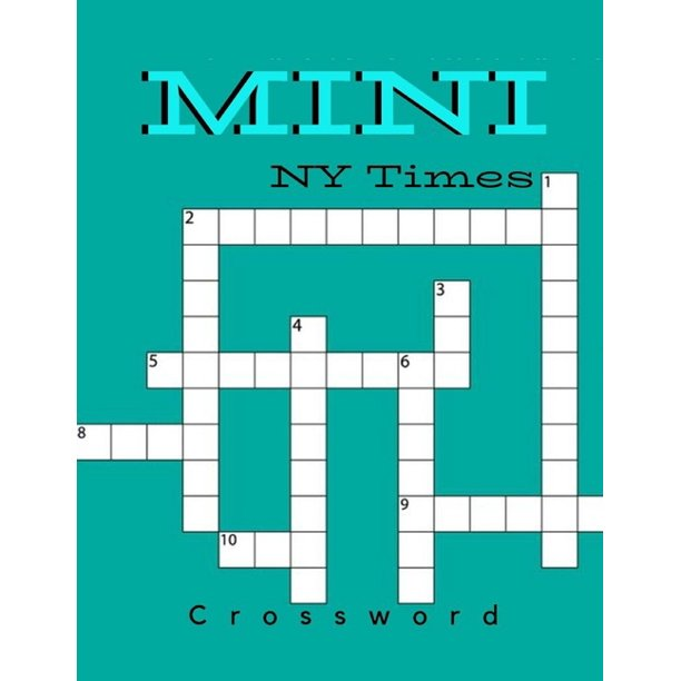 Mini Ny Times Crossword Puzzle Books For Adults Large Print Puzzles With Easy Medium Hard And Very Hard Difficulty Brain Games For Every Day Usa Today Puzzles Paperback Walmart Com