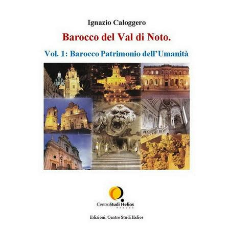 Barocco Gift - Barocco del Val di Noto – Vol. 1: Barocco Patrimonio dell'Umanità - eBook