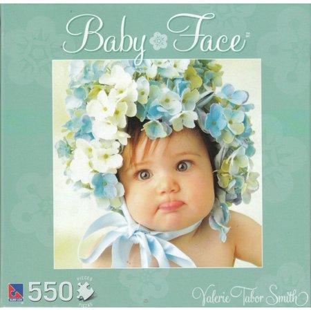 Baby Face - Aqua Box 550 Piece Puzzle (Jigsaw Face)