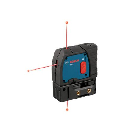 Factory-Reconditioned Bosch GPL3-RT 3-Point Self-Leveling Alignment Laser (Refurbished)