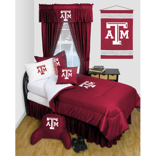 NCAA Texas A&M Bedskirt