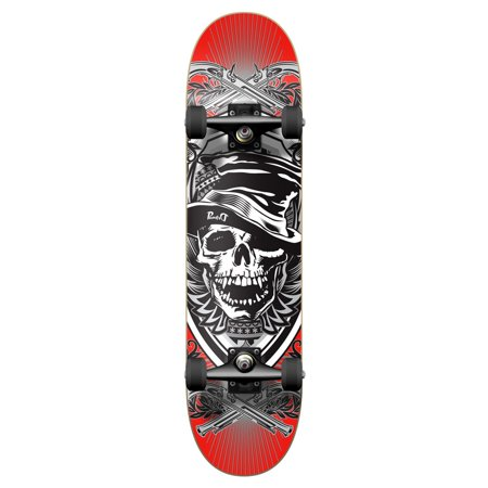 Yocaher Graphic Skull Hat Complete Skateboard (5 Panel Skateboard Hats)