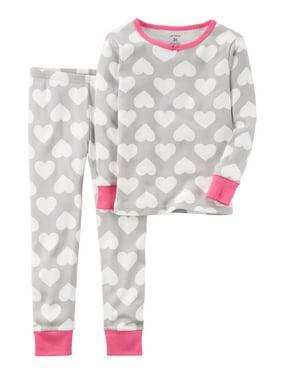 72948190ae9f Carter s Big Girls Pajama Sets - Walmart.com