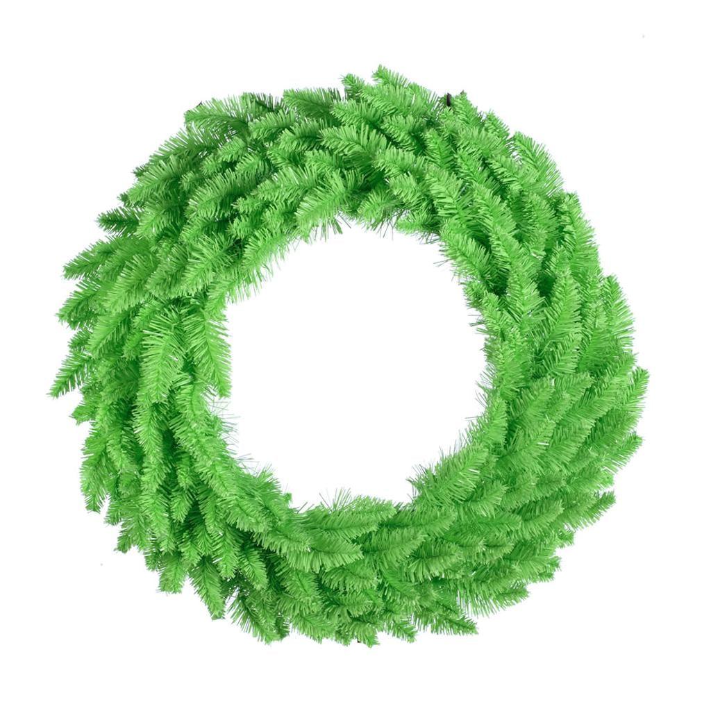 "Vickerman 325874 - 30"" Lime Fir Christmas Wreath (K122730)"