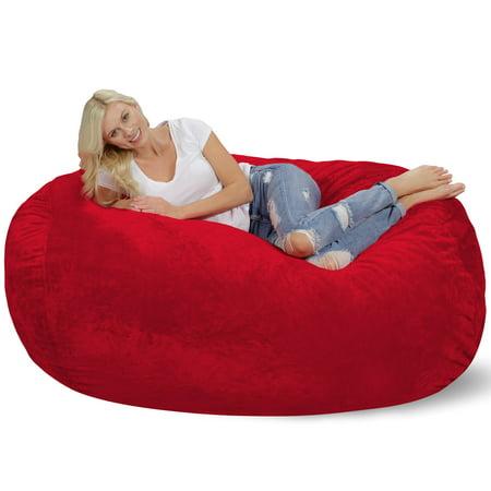 Astounding 6 Ft Large Bean Bag Lounger Beatyapartments Chair Design Images Beatyapartmentscom