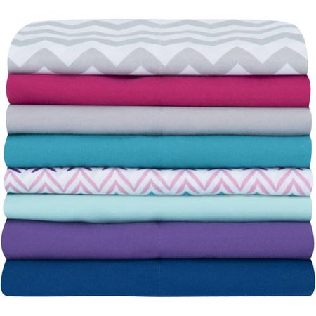 Your Zone Microfiber Bed Sheet Set, 1 Each
