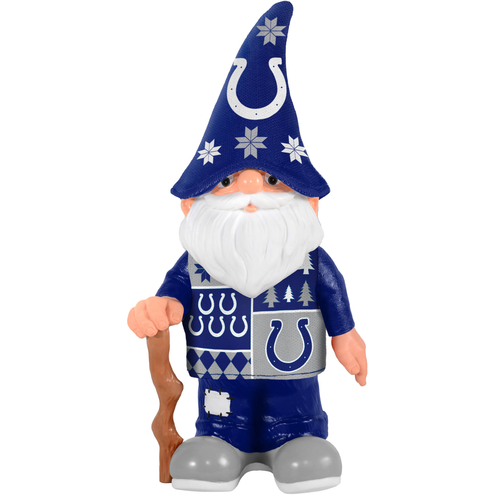 Forever Collectibles NFL Real Ugly Sweater Gnome, Indianapolis Colts