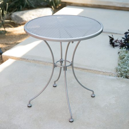 Round Mesh Patio Table