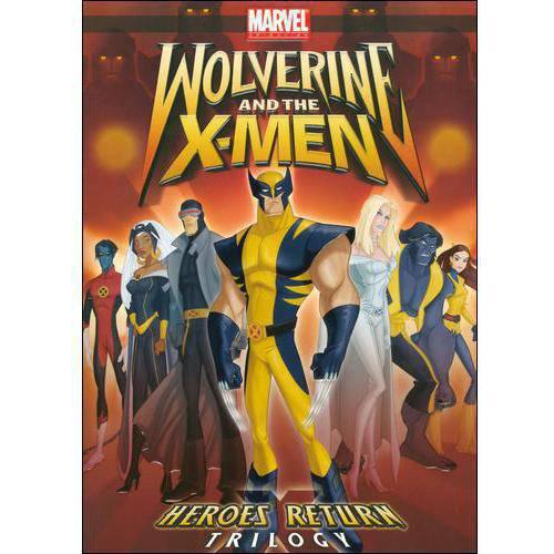 Lions Gate Wolverine & The X-men-heroes Return Trilogy [dvd] [ws/eng/span/5.1]