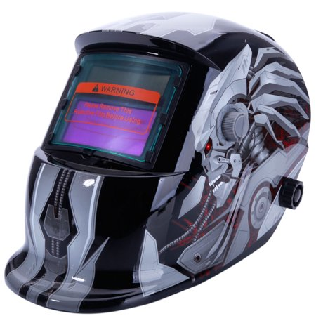 Zimtown Solar Power Auto Darkening Welding Helmet Mask Hood,Adjustable Shade Range