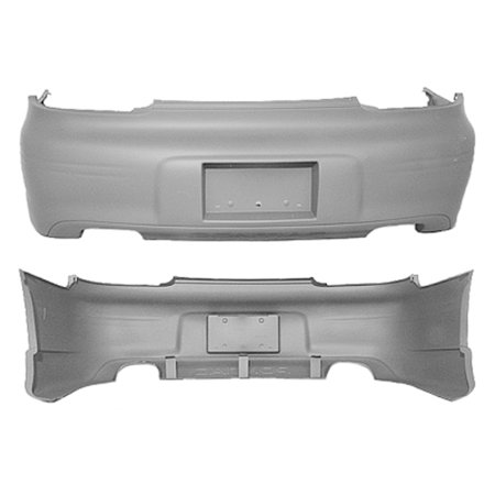 - CPP GM1100532 Rear Bumper Cover for 97-03 Pontiac Grand Prix