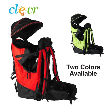 Clevr Baby Toddler Backpack Carrier Stand Child Kid Sun Shade Visor Shield