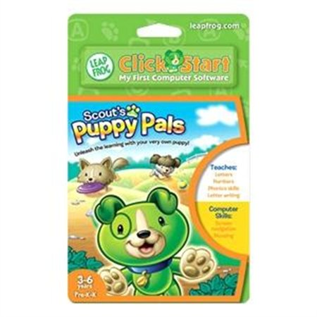 Software Instrument Educational Discount (Leapfrog Enterprises Clickstart Educational Software: Scout's Puppy Pals 22659 )