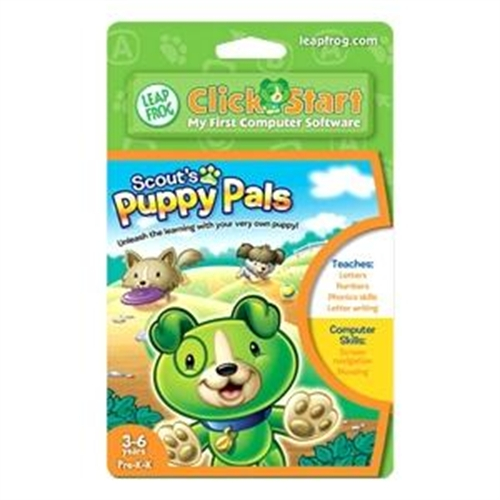 Leapfrog Enterprises Clickstart Educational Software: Scout's Puppy Pals 22659